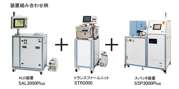 SSP3000Plusの組み合わせユニット例