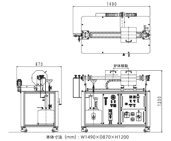 SAF3000外観図