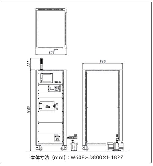 SSP2000Plus外観図