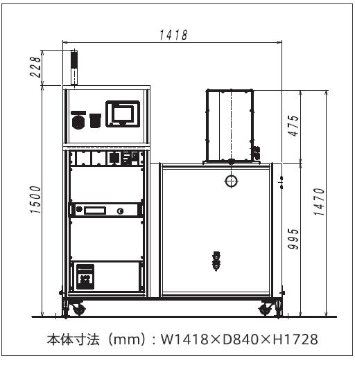 SSP3000外観図
