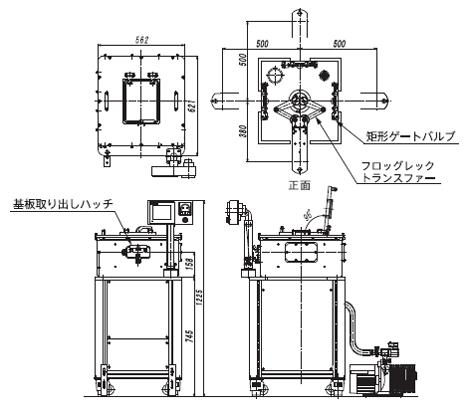 STR2000外観図
