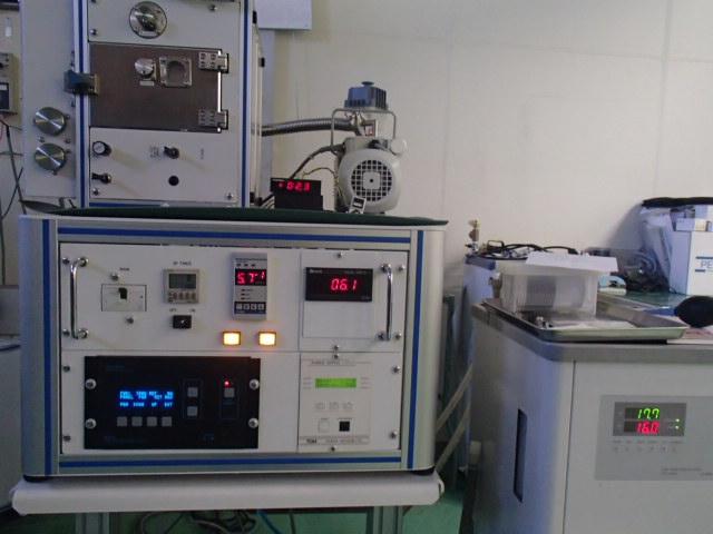 成膜中のSSP1000の様子